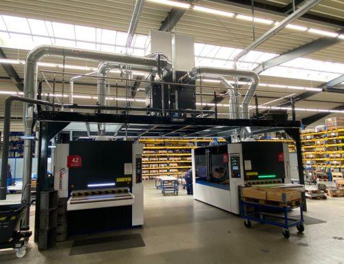 Neue Timesavers 42-Serie-1350-WRBW beim Kunden Quadrus